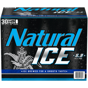 Natural Ice 12Oz 30Pk Cans  30L