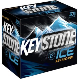 Keystone Ice Cans 30 Pack