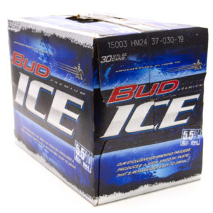 Budweiser Ice Beer – 30 Pack