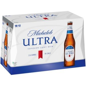 Michelob Ultra Bottles – 18 Pack