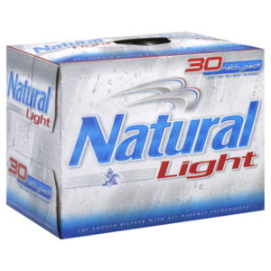 Natural Light 30Pk 12Oz Cans  30L