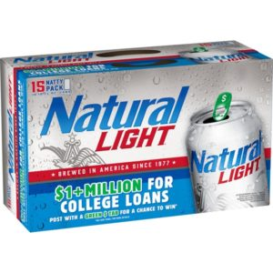 Natural Light 18Pk 12Oz Cans