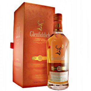 Glenfiddich Scotch Single Malt 21 Year Reserva Rum Cask Finish  750ML