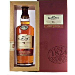 The Glenlivet Scotch Single Malt 21 Year Archive