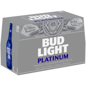 Budweiser Light Platinum – 18 Pack