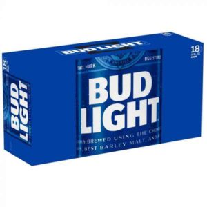 Bud Light Beer Cans