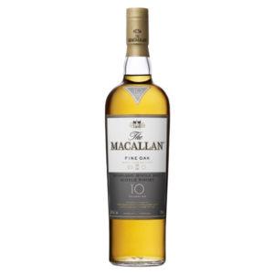 The Macallan Fine Oak Scotch Single Malt 10 Year