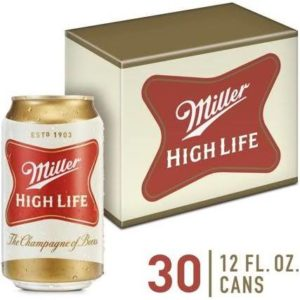 Miller High Life Cans – 30 Pack