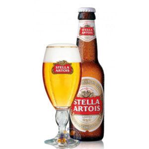 Stella Artois Premium Lager 12Pk 12Oz Bottles 12L