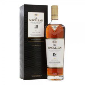 The Macallan Sherry Oak Scotch Single Malt 18 Year