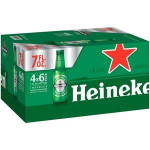 Heineken Bottles 7 Oz 24 Pack