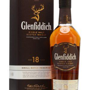 Glenfiddich Scotch Single Malt 18 Year Our Signature Malt – 750ML